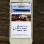 bluemoonbeachgrill.com is now mobile!
