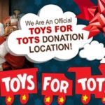 Donate a toy for Toys for Tots and Receive 15% OFF!