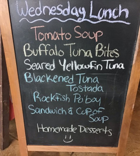Wednesday Lunch Specials January 2nd 2019 Blue Moon