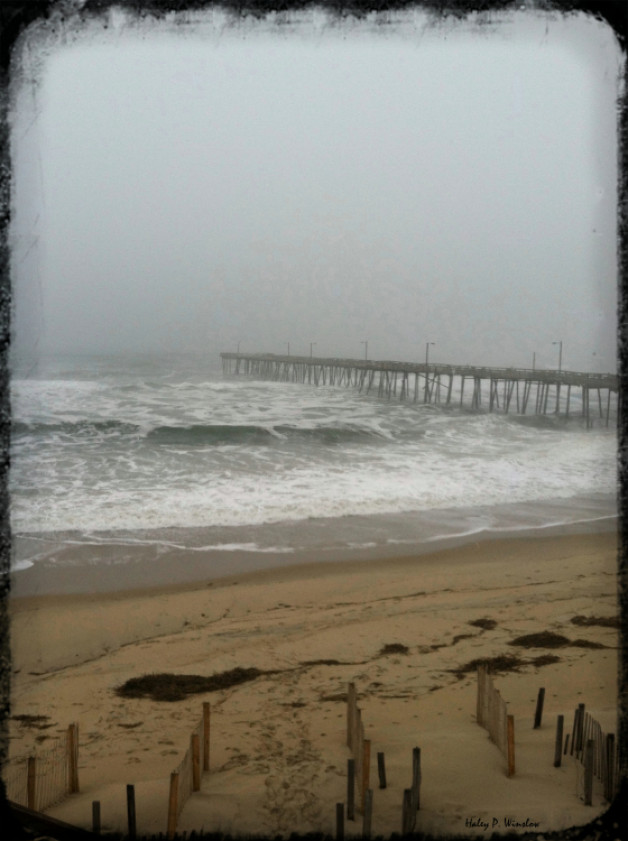 The Foggy Nags Head Pier