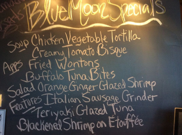 Friday Lunch Specials, February 24th, 2017