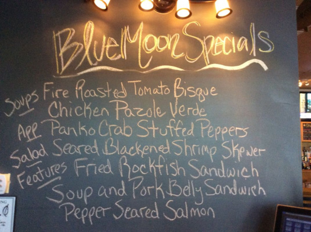 Thursday Lunch Specials-March 9th, 2017