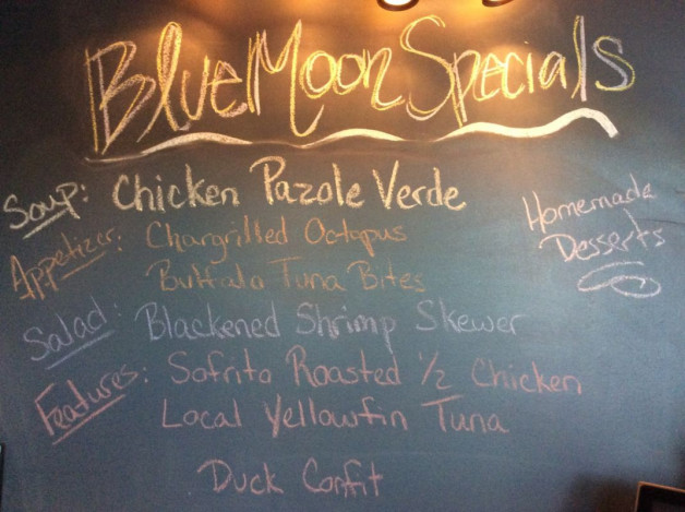 Friday Dinner Specials ~ March 10, 2017