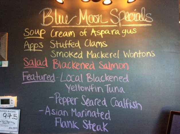 Tuesday Dinner Specials – April 4th, 2017