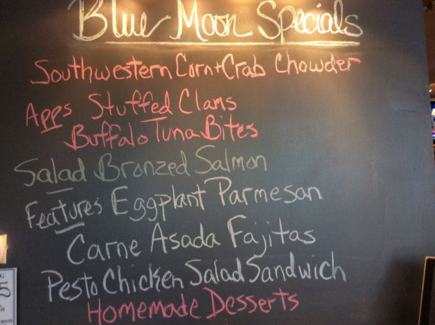 Wednesday Lunch Specials-April 19th, 2017