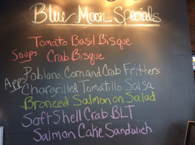 Wednesday Lunch Specials-April 26th, 2017