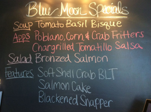 Thursday Lunch Specials – April 27th 2017