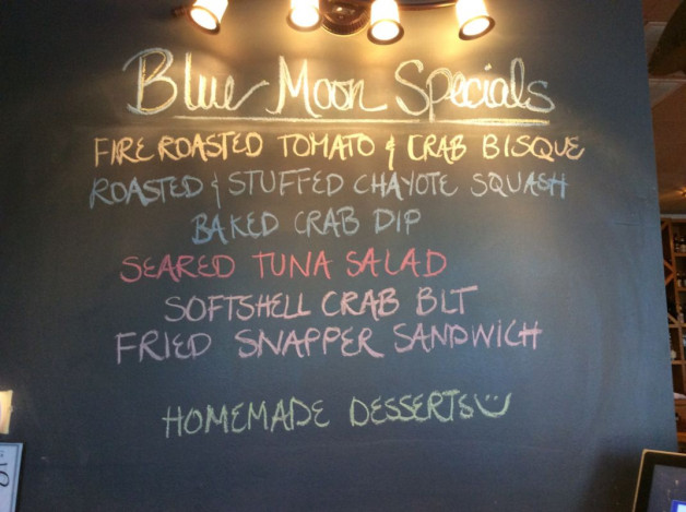 Sunday Lunch Specials- April 30, 2017