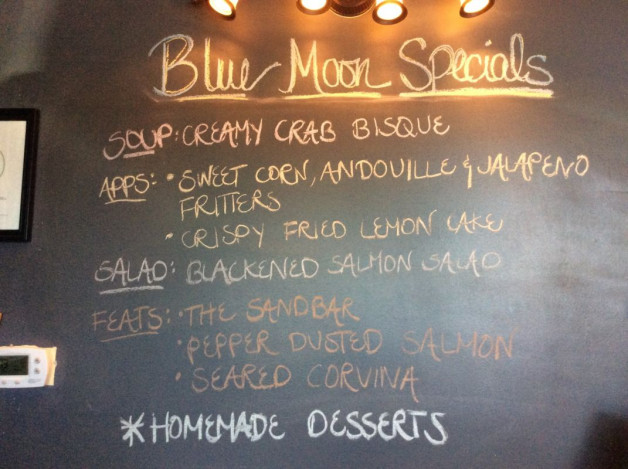 Wednesday Dinner Specials- June 28th, 2017