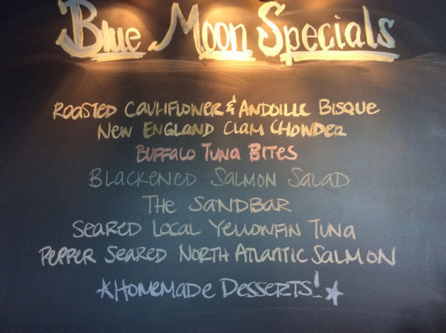 Tuesday Dinner Specials – August 29, 2017