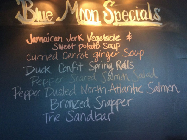 Wednesday Dinner Specials– September 13th, 2017