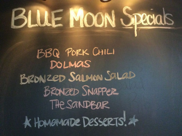 Tuesday Dinner Specials – September 19, 2017
