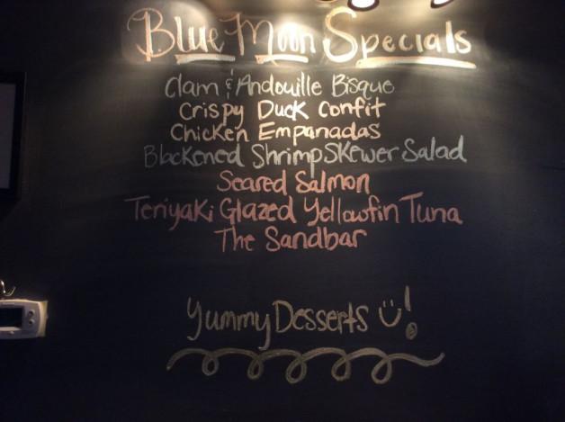 Monday Dinner Specials-October 16th, 2017