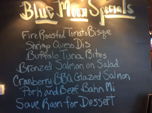 Tuesday Lunch Specials-November 7th, 2017