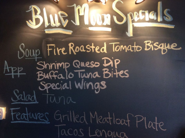Wednesday Lunch Specials- November 8th, 2017