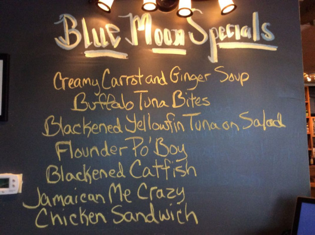 Tuesday Lunch Specials- November 14th, 2017